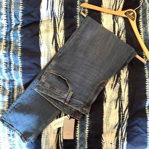 Mango Violeta Slim Susan Jeans Medium Wash